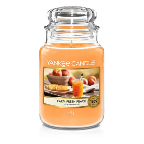 Yankee Candle - Farm Fresh Peach Large Jar
