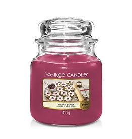 COMING SOON Yankee Candle - Merry Berry Medium Jar