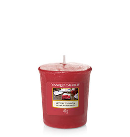 Yankee Candle - Letters To Santa Votive