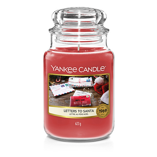 Yankee Candle - Letters To Santa Large Jar