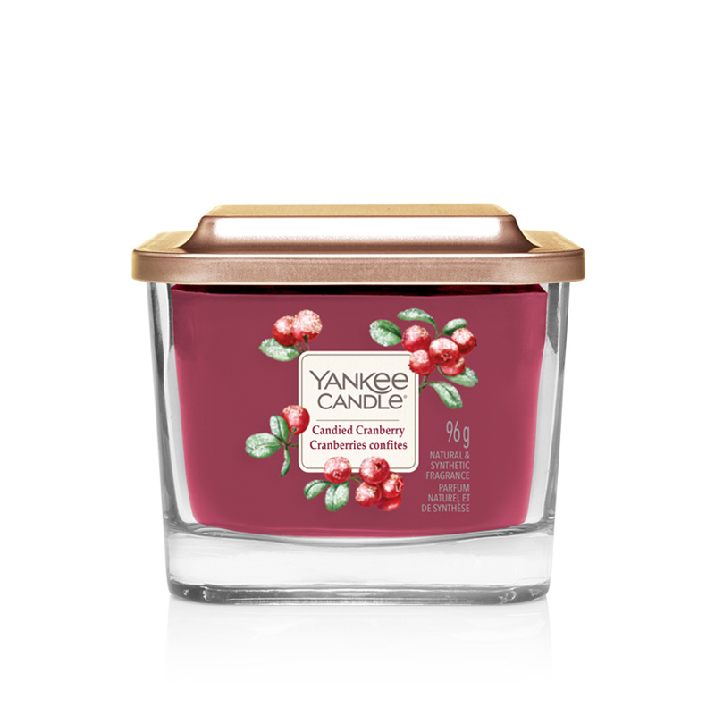 Yankee Candle - Candied Cranberry Medium Vessel