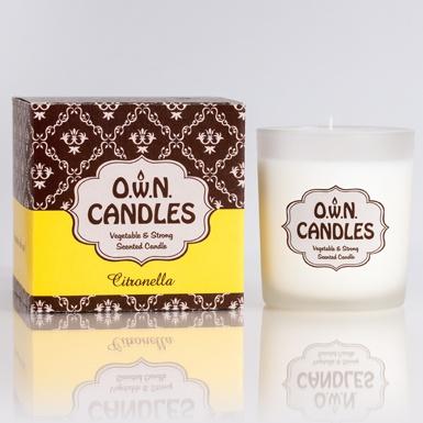 O.W.N Candles O.W.N Candles Glass Jar Candle - Citronella