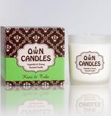 O.W.N Candles O.W.N Candles Glass Jar Candle - Kiwi & Tolu