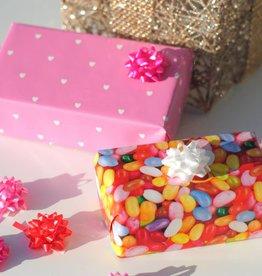Vrolijk Cadeaupapier Met Strik