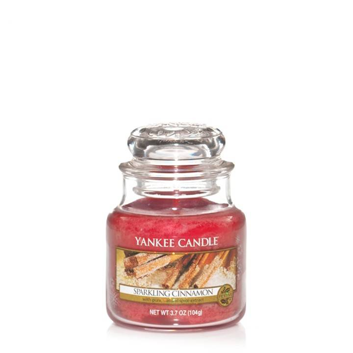 Yankee Candle - Sparkling Cinnamon Small Jar