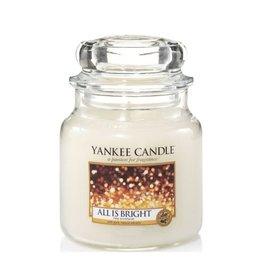 Yankee Candle - All Is Bright Medium Jar