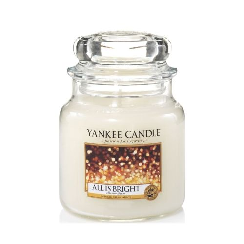 Yankee Candle Yankee Candle - All Is Bright Medium Jar