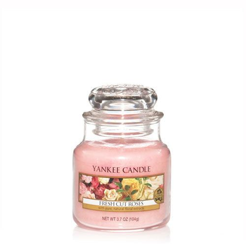 Yankee Candle - Fresh Cut Roses Small Jar