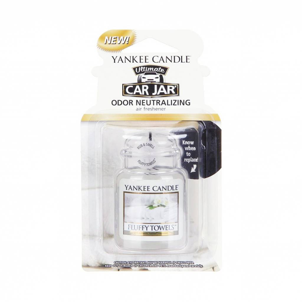 Yankee Candle - Fluffy Towels Car Jar