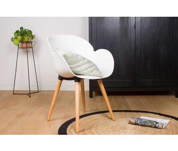 PURE Blend STUHL BLEND S03 - Stuhl mit Armlehnen – gerades Stuhlbeinen