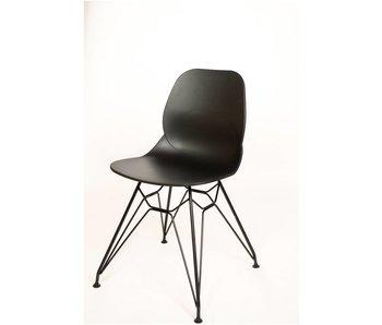 PURE Blend STUHL BLEND S05 - Stuhl ohne Armlehnen – Stuhlbeine Stahldrahtrahmen