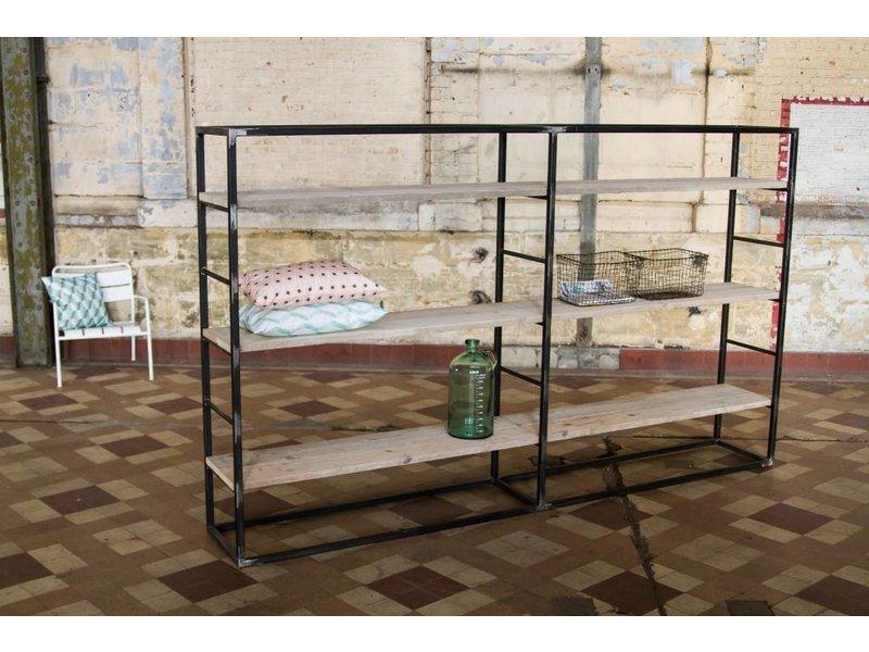 Molde Regal im Industrie Design/ Bauholz - PURE Wood Design