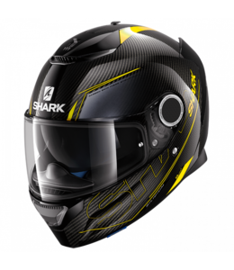 Shark Spartan Carbon Skin Silicon Yello / Antra M (SampleSale)