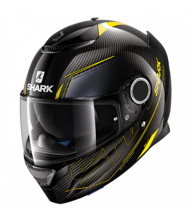 Shark Spartan Carbon Skin Silikon Yello / Antra M
