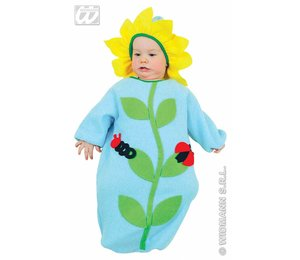 Babyfeestkleding Baby-zonnebloem
