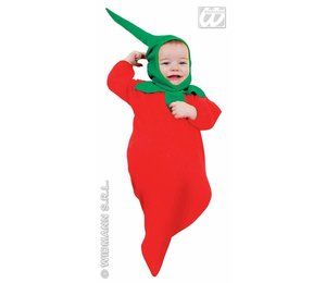 Babyfeestkleding Baby Chili pepper