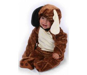 Babyfeestkleding baby's: Hondje pluche