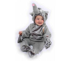 Babyfeestkleding baby's: Olifant pluche