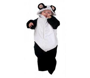 Baby-trappelzak met beentjes Pluche panda