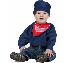 Babykostuum: boerenkiel
