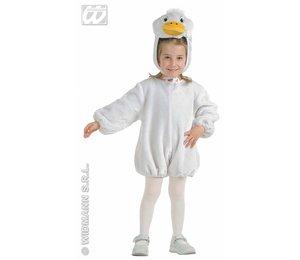 Babyfeestkleding kinderen: pluche gans