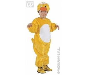 Baby feestkleding kinderen: pluche Eendje