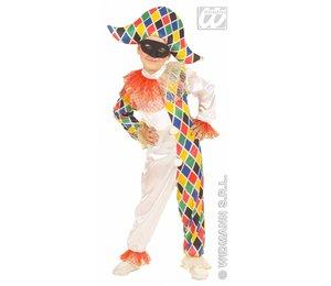 Baby feestkleding kinderen: Harlekijn