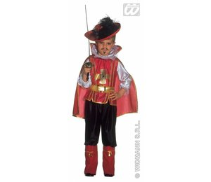 Baby feestkleding kinderen: musketier