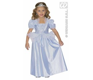 Baby feestkleding kinderen: Blauwe prinses