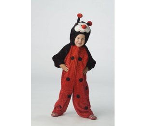 Babyfeestkleding kinderen: Lieveheersbeestje knuffelpluche