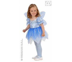 Baby feestkleding kinderen: blauwe fee