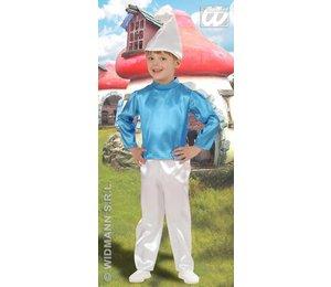 Baby feestkleding kinderen: Smurf