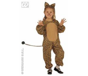 Babyfeestkleding kinderen: luipaard