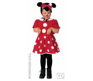 Babyfeestkleding kinderen: muis