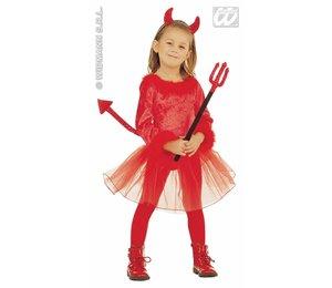 Baby feestkleding kinderen: duivels meisje