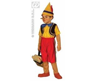 Baby feestkleding kinderen: pinokkio
