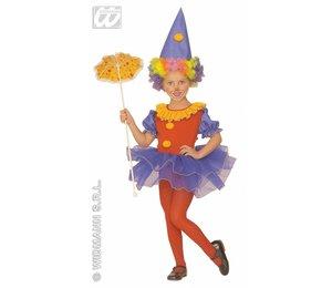 Baby feestkleding kinderen: clown ballerina
