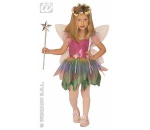 Baby feestkleding kinderen: regenboog fee