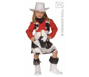 Baby feestkleding kinderen: cowgirl