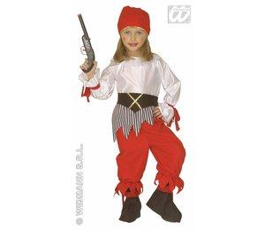Baby feestkleding kinderen: piratenmeisje