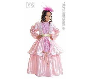 Baby feestkleding kinderen: dame rose