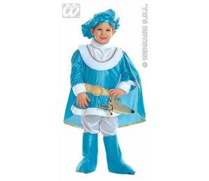 Baby feestkleding kinderen: blauwe prins