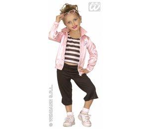Babyfeestkleding kinderen: Jazz girl 50-er jaren