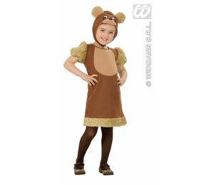 Babyfeestkleding kinderen: Teddy beer