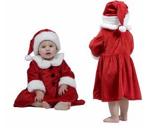 Kerstkleding: Kerst-baby/peuter voor meisjes