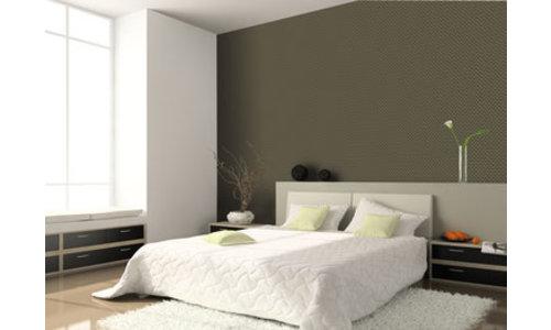 Overschilderbaar behang