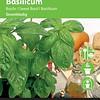 Moestuinplant Grove basilicum