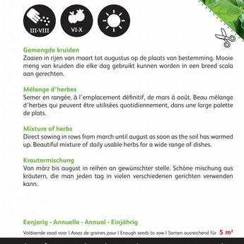 Gemengde kruiden ( 5 soorten combinatie)