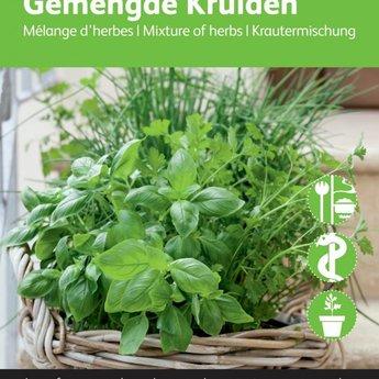 Moestuinplant Gemengde kruiden ( 5 soorten combinatie)