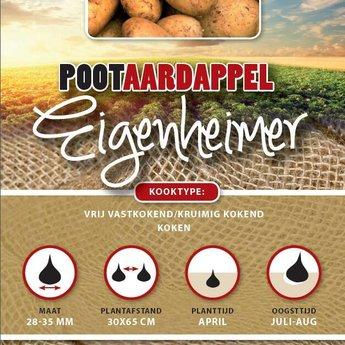 1 kilo Eigenheimer pootaardappel zeer kruimig
